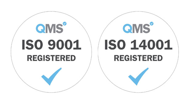 ISO 9001:2015 and ISO 14001:2015