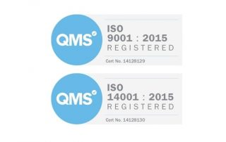 commitment to ISO 9001:2015 and ISO 14001:2015
